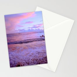 Pink Sunsest Stationery Cards