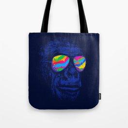 Blue Gorilla Tote Bag