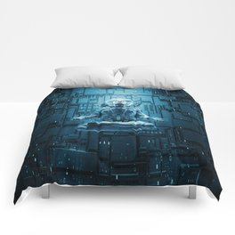 Astro Lotus Comforters