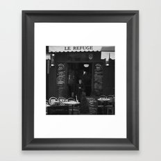 LE REFUGE Framed Art Print