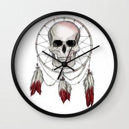 Skullcatcher Wall Clock