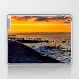 Ocean sunset at walcott Laptop & iPad Skin