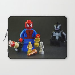 Spidey plays with Lego Laptop Sleeve