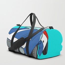 Very Frenchy Classic Car Duffle Bag