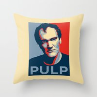 pulp Throw Pillows featuring Pulp! by LilloKaRillo