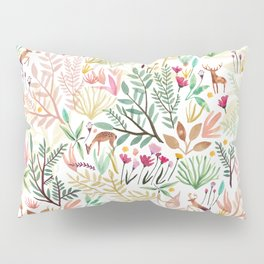 Deers In The Forest Pillow Sham
