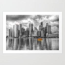 Singapore Marina Bay Sands Art Print