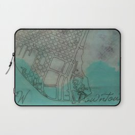 Portland Neighborhood, SW Downtown Laptop Sleeve