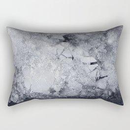 Iced Asphalt Rectangular Pillow