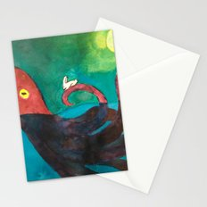 Octopus and Rabbit Stationery Cards