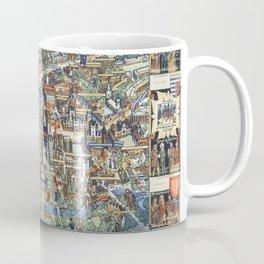 Cambridge University campus map Coffee Mug