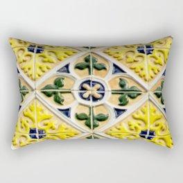 Portuguese azulejos Rectangular Pillow