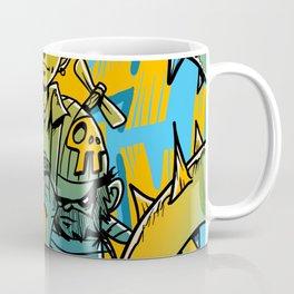 Characters Drawing Pop Art Coffee Mug