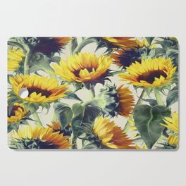 Sunflowers Forever Cutting Board