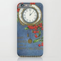 Best Wishes for a Vintage New Year Slim Case iPhone 6s