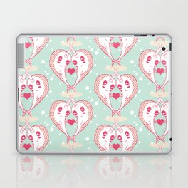 Narwhals in Love Laptop & iPad Skin