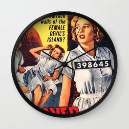 Betrayed Women Wall Clock