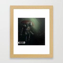 F I Framed Art Print