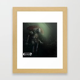 F I Framed Art Print