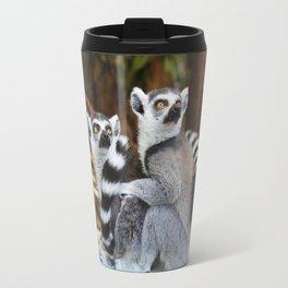 Ring-Tailed Lemurs Travel Mug
