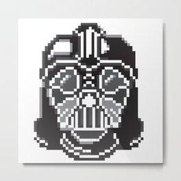 Darth Vader pixel art Metal Print