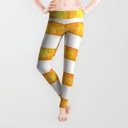 Golden Glitter Girly - Chic Stripes - Duvet Cover - Decor - Tech Leggings