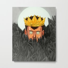 The King is Under Control  Metal Print