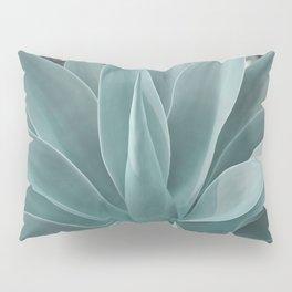 Azul Succulent Agave Plant Pillow Sham