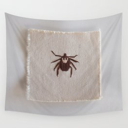 Dog Tick Wall Tapestry