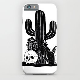 Valley Cactus V2 iPhone Case