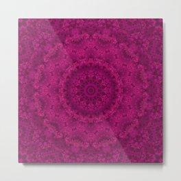 Purple Kaleidoscope. Metal Print