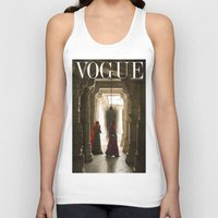 vogue Tank Tops featuring VOGUE INDIA by ArpanDholi