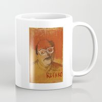 rothko Mugs featuring 50 Artists: Mark Rothko by Chad Beroth