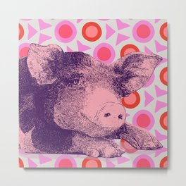 This Little Piggy... Metal Print