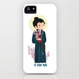 ST PAUL MIKI iPhone Case