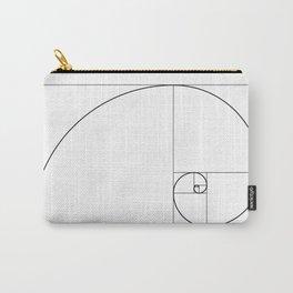 Fibonacci Spiral Carry-All Pouch