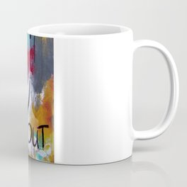 Breathe it all in. Love it all out. Coffee Mug