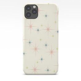 Mid Century Modern Stars iPhone Case