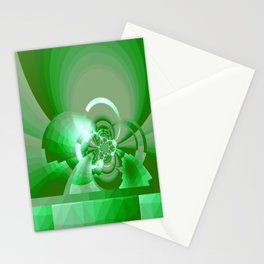 Gradienne Magna 62 Green Stationery Cards