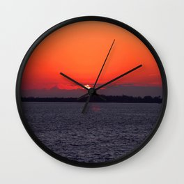 The Sea and the Silence Wall Clock