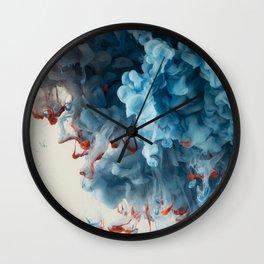 Collision I Wall Clock