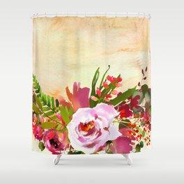 Flowers Bouquet 93 Shower Curtain