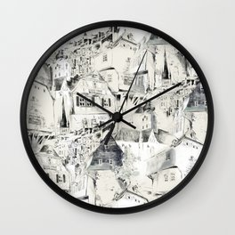 Germany historical view, Bad Kreuznach Wall Clock