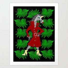 Zebracorn Art Print