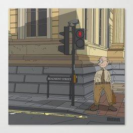 Oxford - Beaumont Street Canvas Print