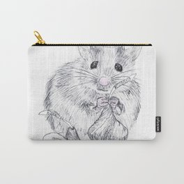 Chocolate Mouse Carry-All Pouch