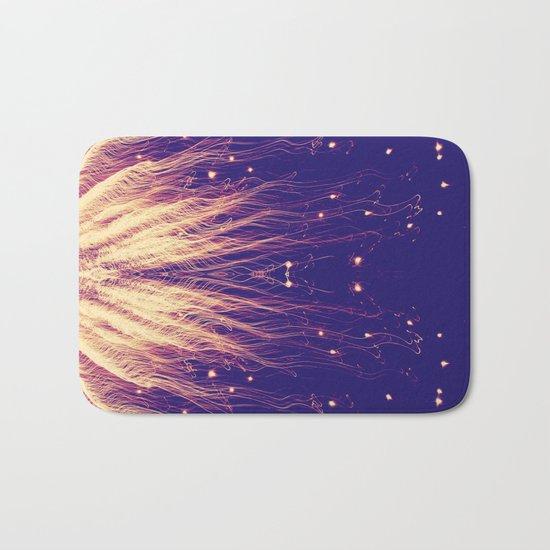Fire Hair Bath Mat