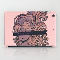 anonymous iPad Cases featuring Anonymous by Ludovic Jacqz