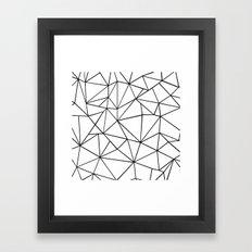 Ab Out 2 Framed Art Print
