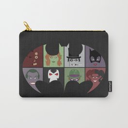 Bat Villains Carry-All Pouch
